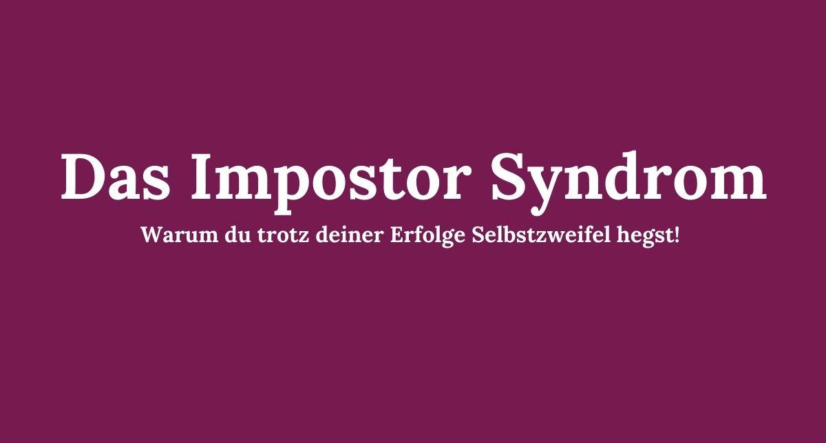 Impostor Syndrom